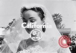 Image of Hollywood actress Ann Blyth marries James McNulty California United States, 1953, second 3 stock footage video 65675040147