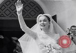 Image of Hollywood actress Ann Blyth marries James McNulty California United States, 1953, second 6 stock footage video 65675040147