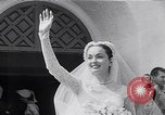 Image of Hollywood actress Ann Blyth marries James McNulty California United States USA, 1953, second 7 stock footage video 65675040147