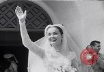 Image of Hollywood actress Ann Blyth marries James McNulty California United States, 1953, second 8 stock footage video 65675040147