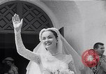 Image of Hollywood actress Ann Blyth marries James McNulty California United States, 1953, second 9 stock footage video 65675040147