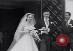 Image of Hollywood actress Ann Blyth marries James McNulty California United States, 1953, second 16 stock footage video 65675040147