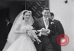 Image of Hollywood actress Ann Blyth marries James McNulty California United States, 1953, second 17 stock footage video 65675040147