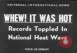 Image of American heat waves and blizzards United States USA, 1953, second 12 stock footage video 65675040150