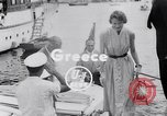 Image of Britain's Foreign Secretary Eden Athens Greece, 1953, second 1 stock footage video 65675040153