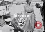 Image of Britain's Foreign Secretary Eden Athens Greece, 1953, second 2 stock footage video 65675040153