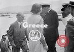 Image of Britain's Foreign Secretary Eden Athens Greece, 1953, second 4 stock footage video 65675040153