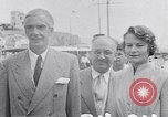 Image of Britain's Foreign Secretary Eden Athens Greece, 1953, second 8 stock footage video 65675040153