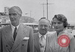 Image of Britain's Foreign Secretary Eden Athens Greece, 1953, second 9 stock footage video 65675040153