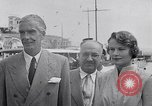 Image of Britain's Foreign Secretary Eden Athens Greece, 1953, second 10 stock footage video 65675040153