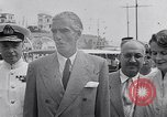 Image of Britain's Foreign Secretary Eden Athens Greece, 1953, second 12 stock footage video 65675040153
