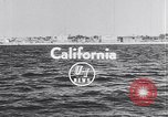 Image of airplane Santa Monica California USA, 1953, second 2 stock footage video 65675040160