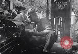 Image of toy train Wichita Kansas USA, 1953, second 10 stock footage video 65675040163