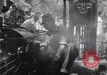 Image of toy train Wichita Kansas USA, 1953, second 11 stock footage video 65675040163