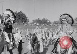 Image of cowboys at rodeo Pendleton Oregon USA, 1953, second 6 stock footage video 65675040164