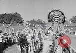Image of cowboys at rodeo Pendleton Oregon USA, 1953, second 7 stock footage video 65675040164
