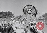 Image of cowboys at rodeo Pendleton Oregon USA, 1953, second 8 stock footage video 65675040164