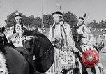 Image of cowboys at rodeo Pendleton Oregon USA, 1953, second 11 stock footage video 65675040164