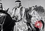 Image of cowboys at rodeo Pendleton Oregon USA, 1953, second 12 stock footage video 65675040164