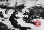 Image of bikers Paris France, 1953, second 2 stock footage video 65675040166