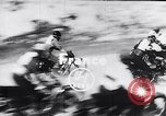 Image of bikers Paris France, 1953, second 3 stock footage video 65675040166