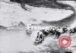 Image of bikers Paris France, 1953, second 4 stock footage video 65675040166