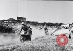 Image of bikers Paris France, 1953, second 8 stock footage video 65675040166