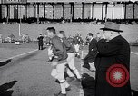 Image of Giants versus Lions football New York City USA, 1953, second 6 stock footage video 65675040171