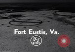 Image of Dedication of US Army Felker Heliport at Fort Eustis Newport News Virginia United States USA, 1954, second 1 stock footage video 65675040176