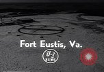 Image of Dedication of US Army Felker Heliport at Fort Eustis Newport News Virginia United States USA, 1954, second 2 stock footage video 65675040176