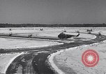 Image of Dedication of US Army Felker Heliport at Fort Eustis Newport News Virginia United States USA, 1954, second 5 stock footage video 65675040176