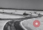 Image of Dedication of US Army Felker Heliport at Fort Eustis Newport News Virginia United States USA, 1954, second 6 stock footage video 65675040176