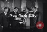 Image of Alan Ameche receives Heisman Trophy New York United States USA, 1954, second 7 stock footage video 65675040178