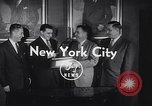 Image of Alan Ameche receives Heisman Trophy New York United States USA, 1954, second 8 stock footage video 65675040178