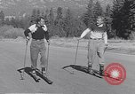 Image of ski-skate early vintage skateboard California United States USA, 1954, second 8 stock footage video 65675040179