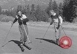 Image of ski-skate early vintage skateboard California United States USA, 1954, second 9 stock footage video 65675040179