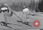 Image of ski-skate early vintage skateboard California United States USA, 1954, second 11 stock footage video 65675040179