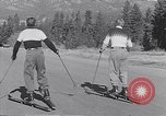 Image of ski-skate early vintage skateboard California United States USA, 1954, second 12 stock footage video 65675040179