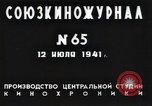 Image of Soviet military preparedness Russia, 1941, second 10 stock footage video 65675040191