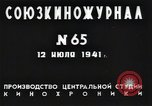 Image of Soviet military preparedness Russia, 1941, second 11 stock footage video 65675040191