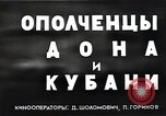 Image of Russian cossacks Russia, 1941, second 4 stock footage video 65675040201