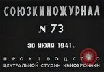 Image of Russian soldiers in battle against Germany Eastern Front European Theater, 1941, second 11 stock footage video 65675040202