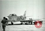 Image of F-86A speed record Muroc California USA, 1948, second 2 stock footage video 65675040231