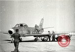 Image of F-86A speed record Muroc California USA, 1948, second 3 stock footage video 65675040231