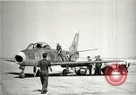 Image of F-86A speed record Muroc California USA, 1948, second 4 stock footage video 65675040231
