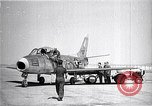 Image of F-86A speed record Muroc California USA, 1948, second 5 stock footage video 65675040231