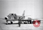 Image of F-86A speed record Muroc California USA, 1948, second 7 stock footage video 65675040231