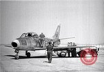 Image of F-86A speed record Muroc California USA, 1948, second 8 stock footage video 65675040231