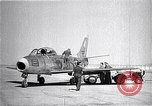 Image of F-86A speed record Muroc California USA, 1948, second 9 stock footage video 65675040231
