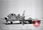 Image of F-86A speed record Muroc California USA, 1948, second 10 stock footage video 65675040231